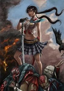 zombie killer girl-5123790332